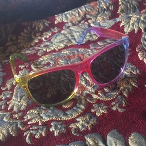 Pink Rainbow Sunglasses